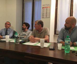 Raffaele Lorusso, Massimiliano Riccio, Enrico Romagnoli e Benoît Girod