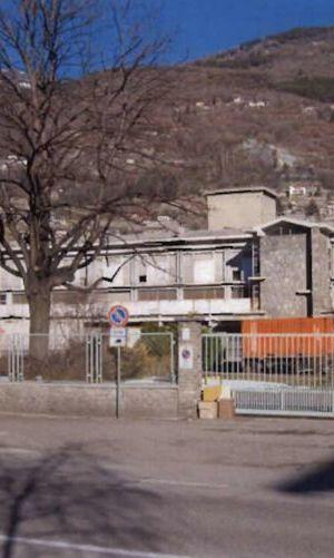 La vecchia centrale del latte di Aosta