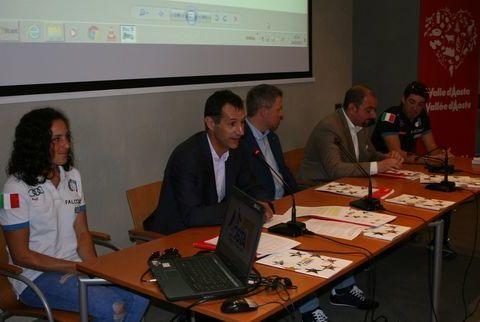 Federica Brignone, Claudio Restano, Fulvio Centoz, Carlo Marzi, Federico Pellegrino