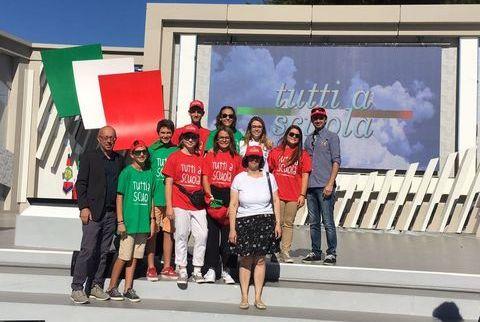 delegazione valdostana all'inaugurazione anno scolastico Taranto