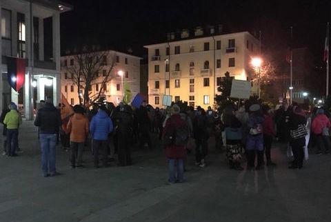 Presidio legalità piazza Deffeyes