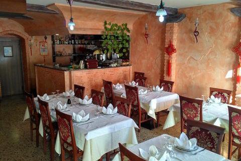 Il ristorante cinese Paradiso, ad Aosta.