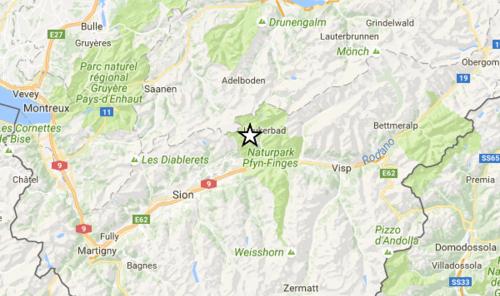 Scossa di terremoto in Svizzera