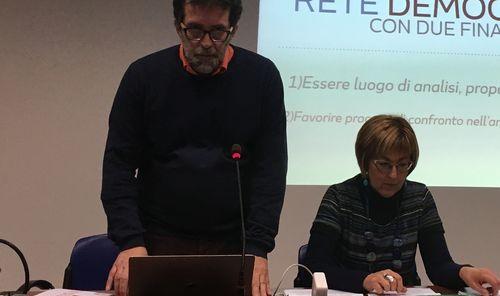 Da sx: Fabio Protasoni e Chiara Minelli