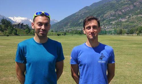 Jonathan Lentini e Luca Pison