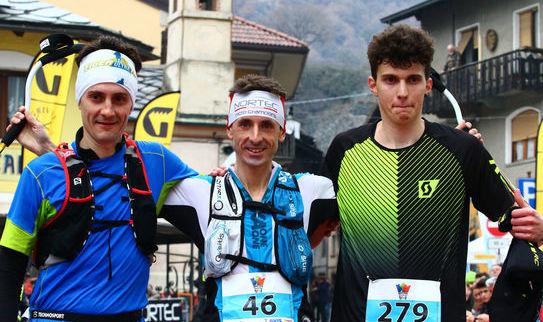 Castle Trail - Podio maschile, Dennis Brunod, Mathieu Brunod e Statti