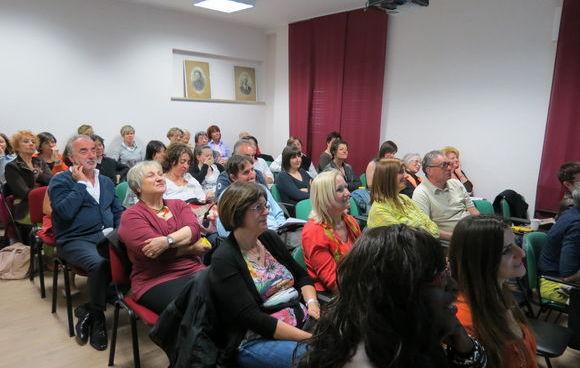 Il pubblico degli eventi del Piccolo Albergo di comunità