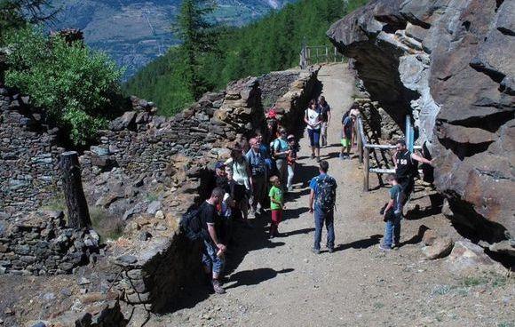 Miniere Saint-Marcel visite