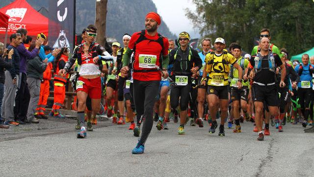 Partenza Mont Avic Trail 37km