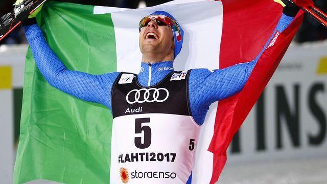 Federico Pellegrino Oro a Lahti 2017 - Pentaphoto