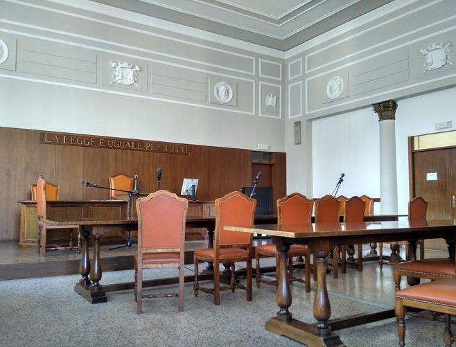 Aula tribunale, Tribunale, udienza, giudizio, processo