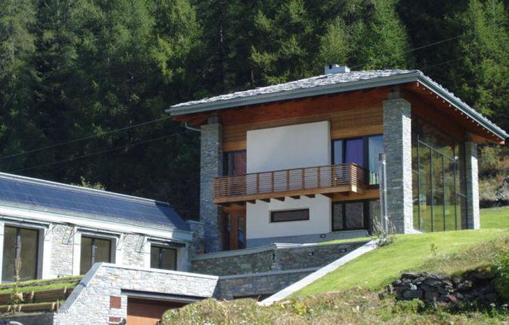 case in legno si ma senza rinunciare ad un progetto di