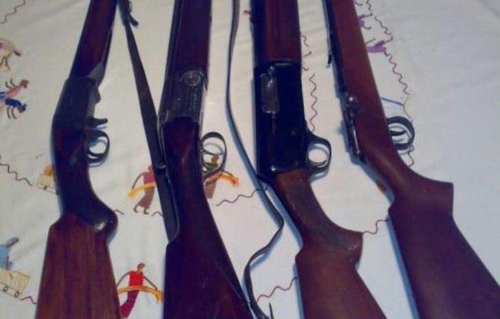Fucili da caccia (foto archivio)