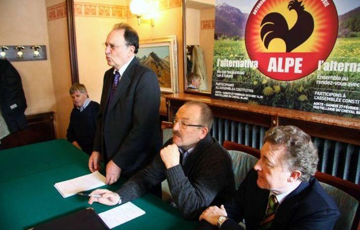 Alpe - conferenza di presentazione