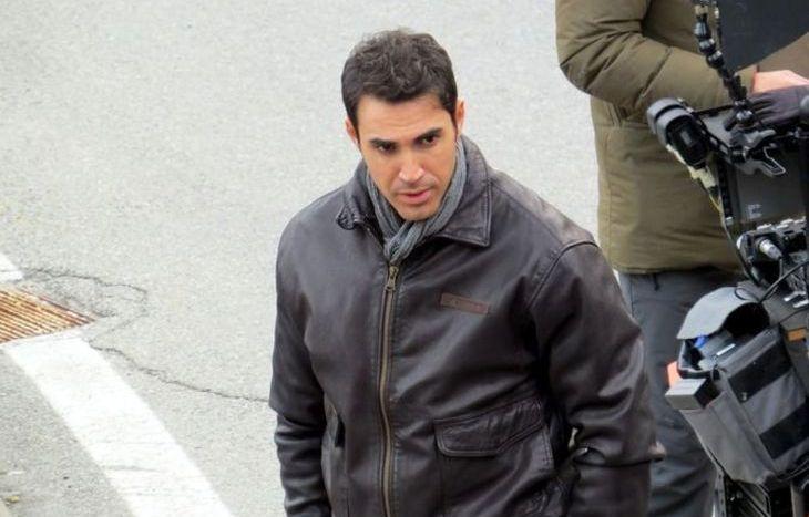L'attore che interpreta l'agente Antonio Scipioni.