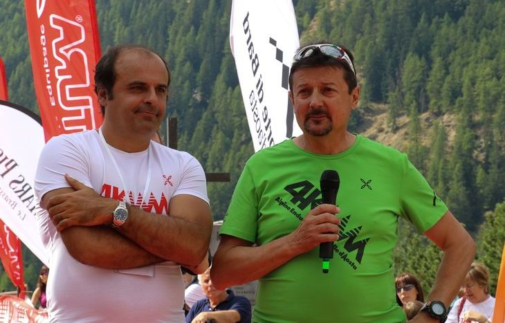 Gabriele Accornero e Adriano Favre