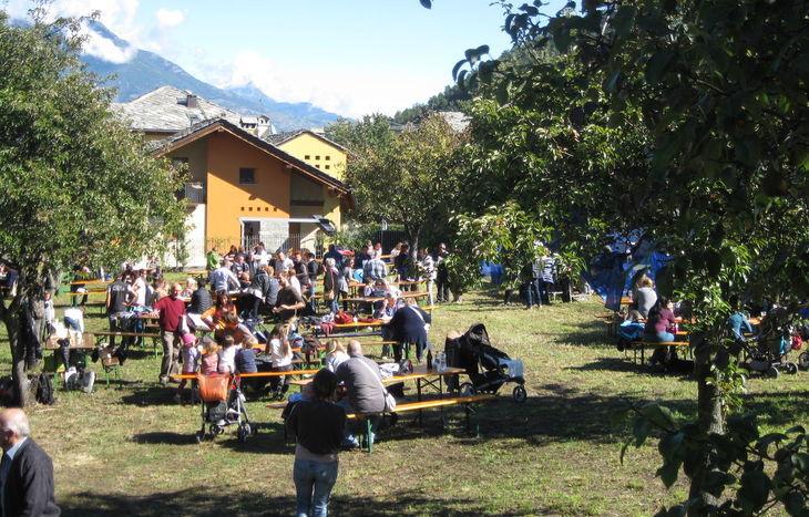 Festa delle mele a Gressan