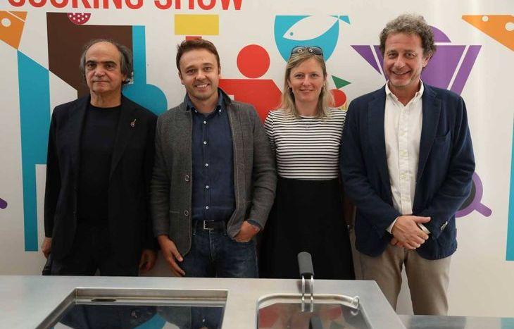 Davide Paolini, Stefano Lunardi e i rappresentanti di KiaMotors Italia