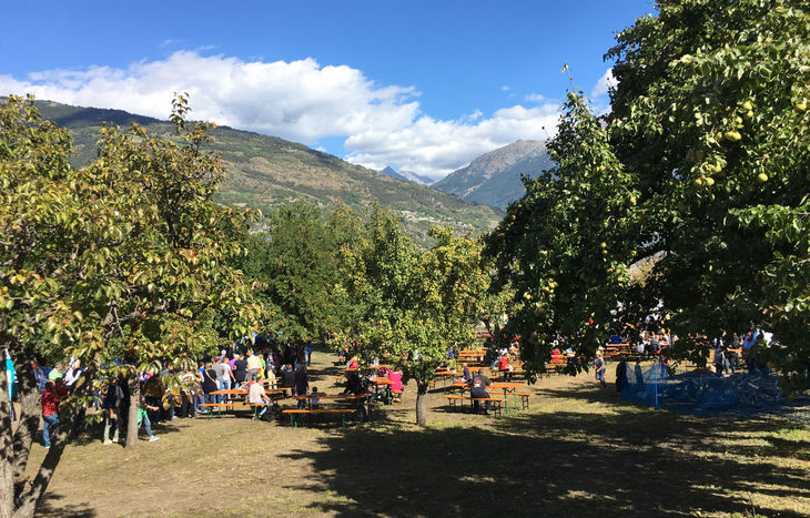 Festa delle mele di Gressan