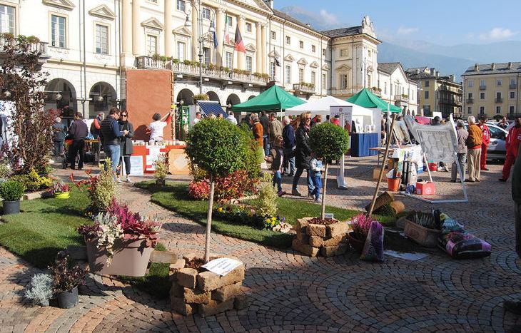 La Giornata dell'Artigiano in piazza Chanoux
