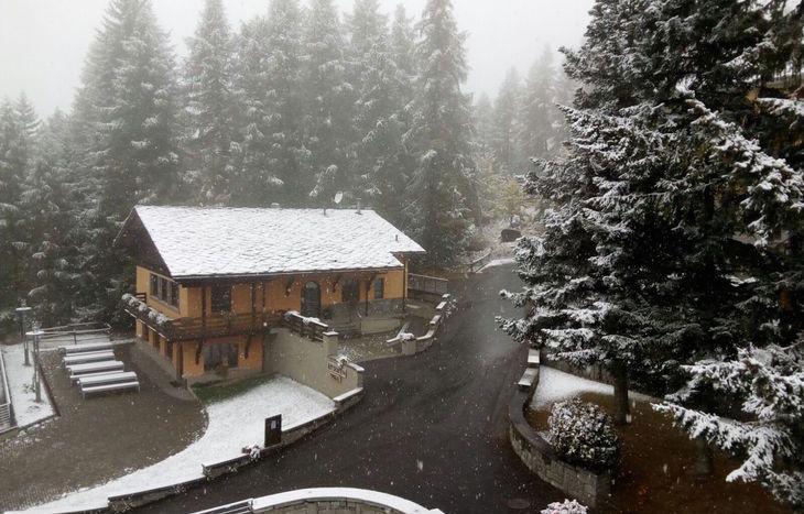 neve a Cogne 13 ottobre 2016