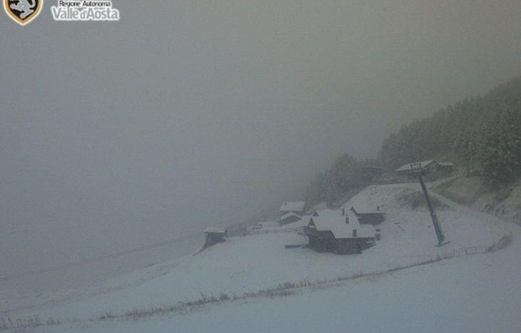 neve a Crevacol 13 ottobre 2016