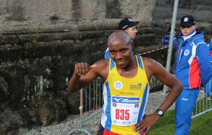 Erastus Kipkorir Chirchir, vincitore della 10 km alla MezzAosta
