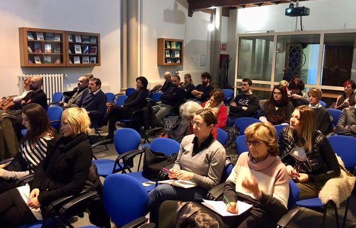 Il pubblico del convegno sull'impresa sociale