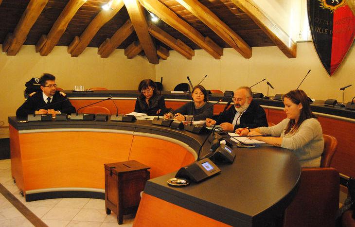 La IV Commissione consiliare di Aosta