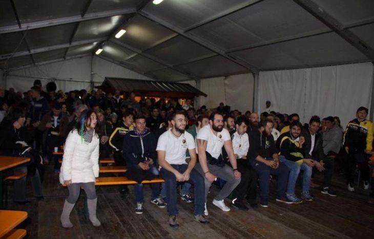 La presentazione dello Stade Valdotain - foto Facebook