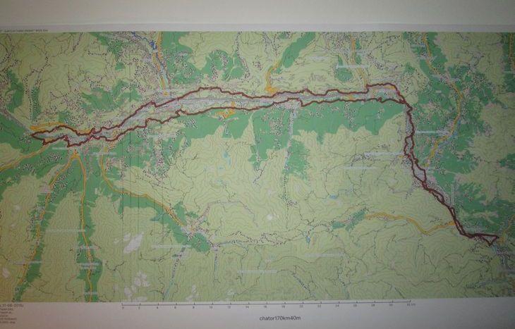 Il percorso del Tor des Chateaux