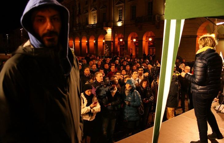 treno tour 5 Stelle piazza Chanoux Aosta