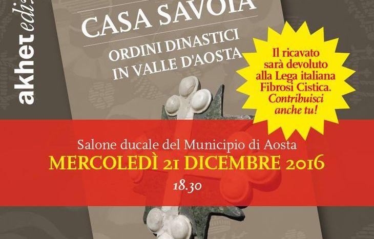 """Il libro di Giovanni Girardini dal titolo """"Casa Savoia Ordini dinastici in Valle d'Aosta"""""""