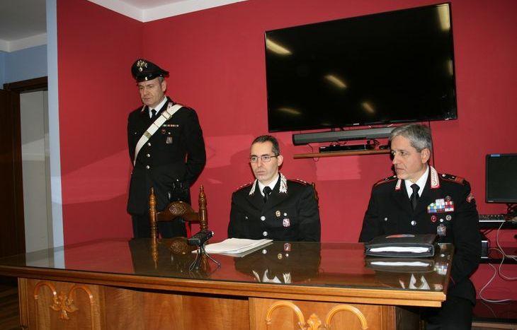 carabinieri tenente carmelo stefano mossucca