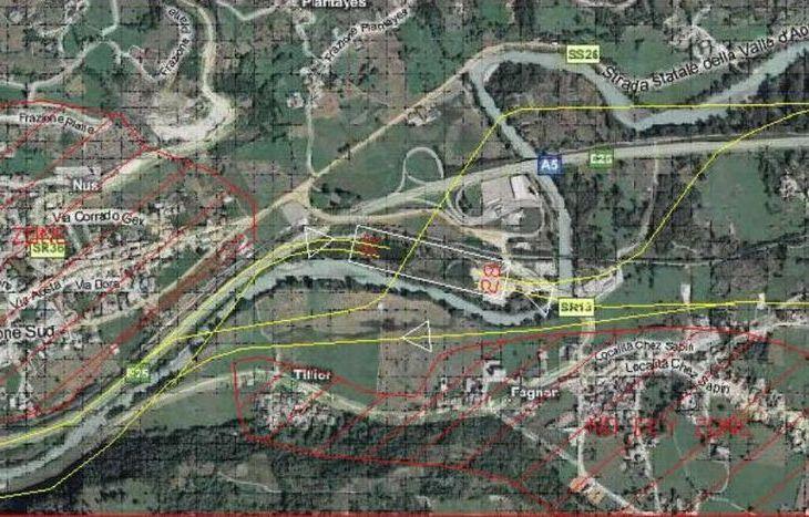 Il circuito di atterraggio del campo volo (dal sito dell'aeroclub Gex).