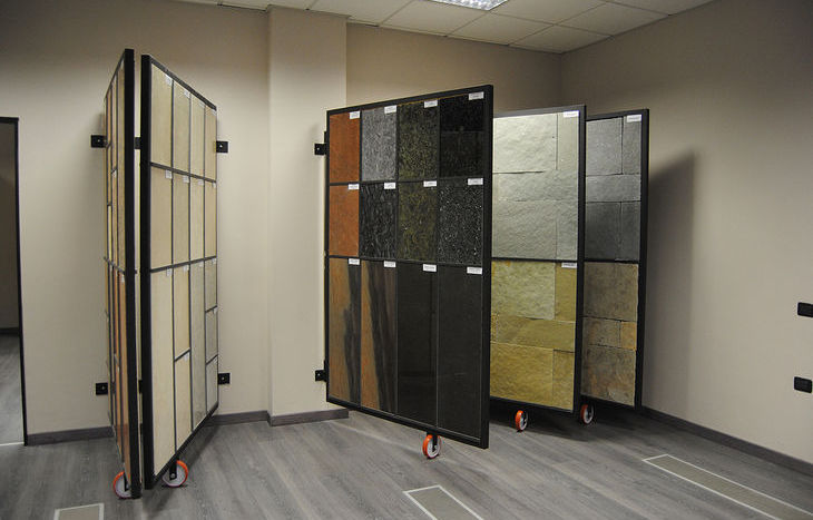 Lo showroom di Perino Srl