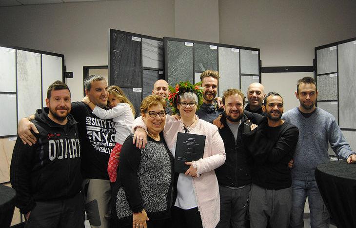 Eleonora Cheillon festeggia la sua laurea magistrale da Perino srl