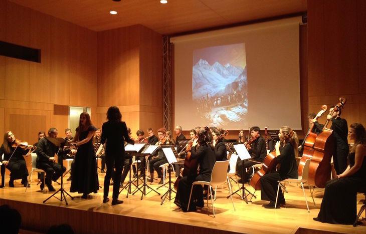 La rappresentazione dell'Elisa al Conservatorio