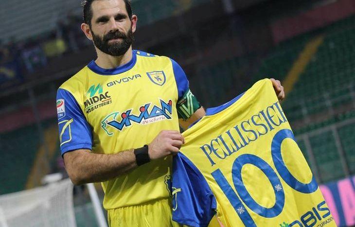 Il 100° gol di Sergio Pellissier - foto Facebook A.C. ChievoVerona