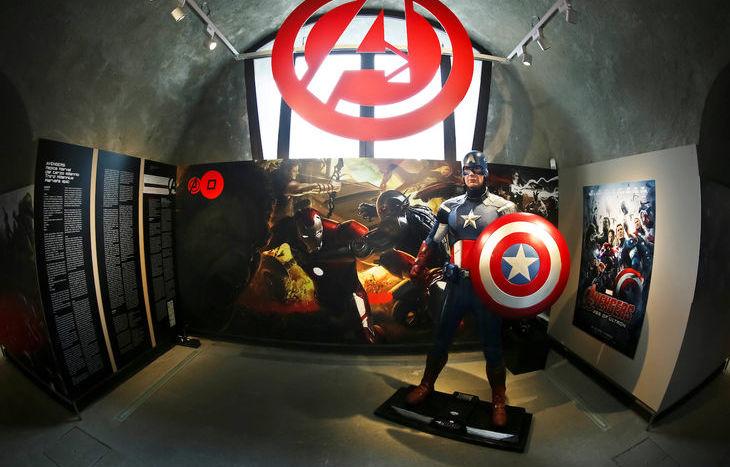 La mostra dedicata alla Marvel