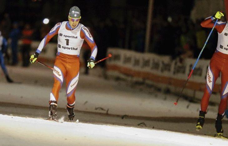 Federico Pellegrino vince la sprint - Foto Fisi