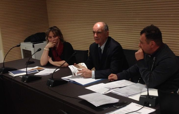 Speranza Girod, Augusto Rollandin, Franco Manes, Celva