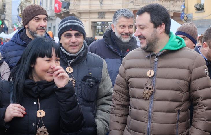 Matteo Salvini - Fiera di Sant'Orso 2017