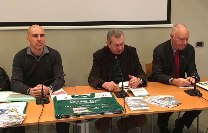 Jean Louis Quendoz, Delio Donzel e Marco Framarin