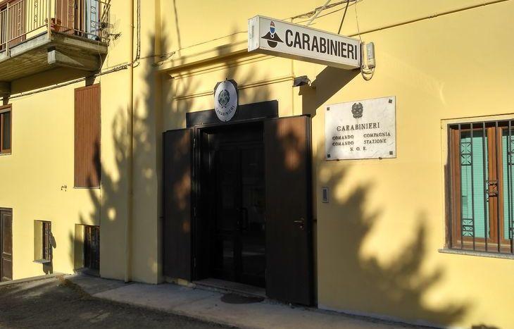 La sede della Compagnia Carabinieri di Châtillon/Saint-Vincent.
