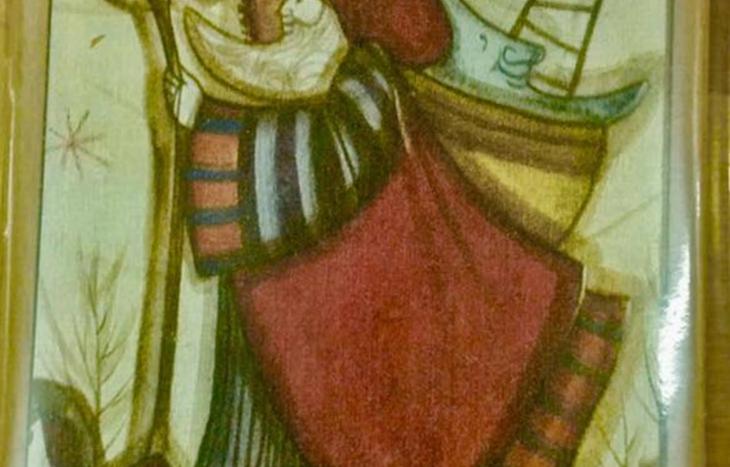 Ciondolo Asiv con bozzetto Raffaella Moniotto