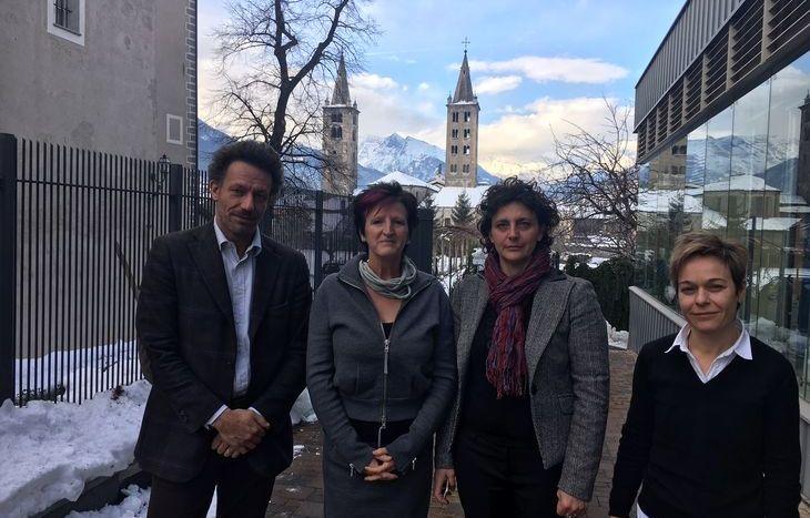 Riccardo Jacquemod, Carla Chiarle, Stefania Sacchi e Nicole Giustini