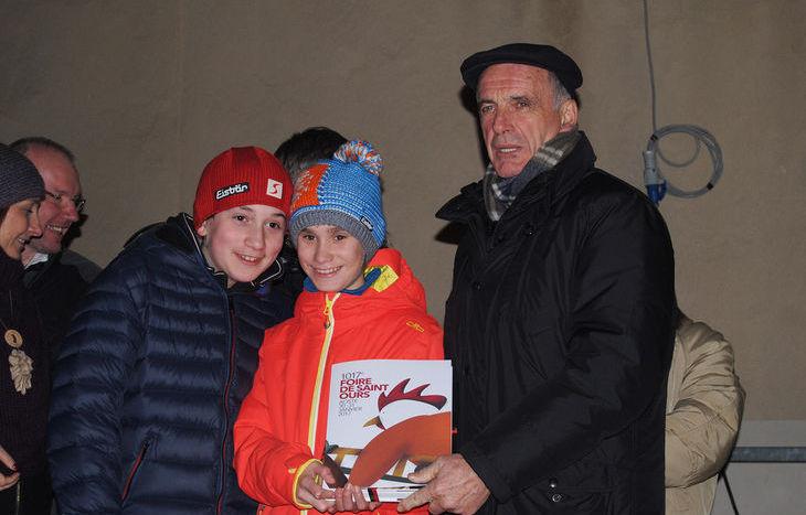 Il Premio ad Amato Brunodet ritirato dai nipoti