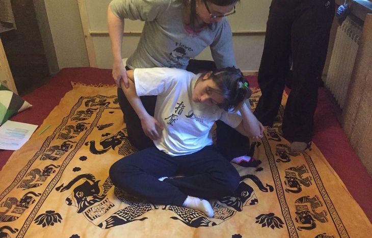 Corso di massaggio Thailandese al Human4Human