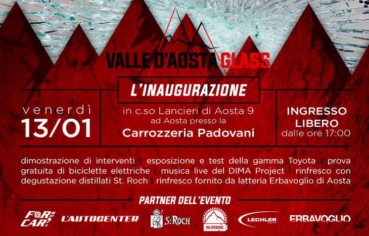 Inaugurazione Valle d'Aosta Glass